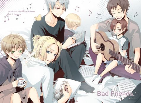 Hetalia: Bad Friends Free Time by Lancha