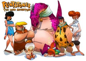 Flintstone: The New Adventure by tanglong