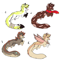 CLOSED - Canines Adoptables 209 by LeaAdoptables
