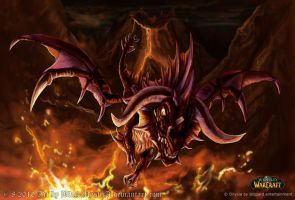 World of Warcraft Onyxia by BlackMysticA