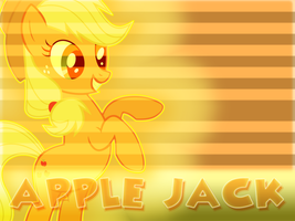 Wallpaper #6 (Applejack) Higher Resolution by Lightslash