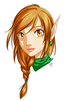 Chipper Elf by TheCatlady