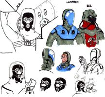 Cobra Naval Forces Sketch Dump by 4609