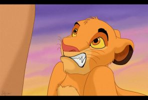 Simba, where were you just now? by Juffs
