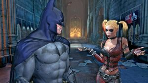 Batman and Harley by LuxrayXD