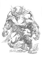 JLA January Etrigan the Demon SOTD by RobertAtkins