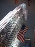 30 Rock at night by peterkopher