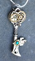 Gears Steampunk Key by Ruger1911