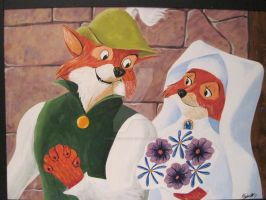 Robin Hood and Maid Marian by Krim-Valley