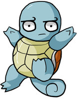 That's an odd Squirtle... by JellyTheTangrowth