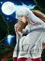Sesshomaru's moon by Animaker131