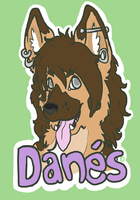 Danes Badge 2012 by LizLeeLi