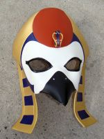 Egyptian Sun God, Ra Mask by b3designsllc