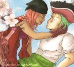 ART TRADE - Zoro and Dovelee by Narikoh