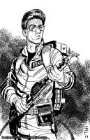 Egon Spengler by cyclonaut