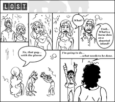 LOST Comic 1 by AJUST