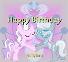 Happy Birthday - Hollyfern by TheMasterofDespair