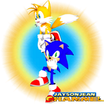 Sonic and Tails Wallpaper by JaysonJean