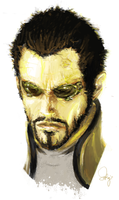 adam jensen by godsavant