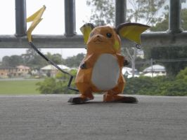 Raichu PaperCraft. by ElvisDitto