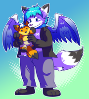 Commission - Leo's Plushie by raizy