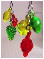 Fruits to Nuts Earrings No. 2 by heatherazzi