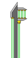 Laser Sword Keyblade Form by IceOfFire