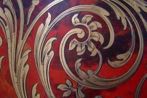 Marquetry Boulle detail of 2 by decojo