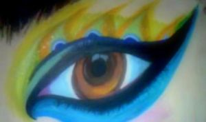 Peacock Eye by ImWeird4You
