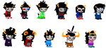 .:Angry Trolls Sprites:. by Cottonee7