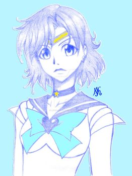 Super Sailor Mercury by Lucia-Azusa