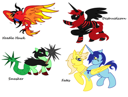 Request Discord's Chaos Units 2/3 by SplinterStar