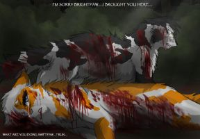 Swiftpaw's Death by RiverSpirit456