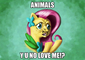 Y U NO LOVE ME by Br0ny