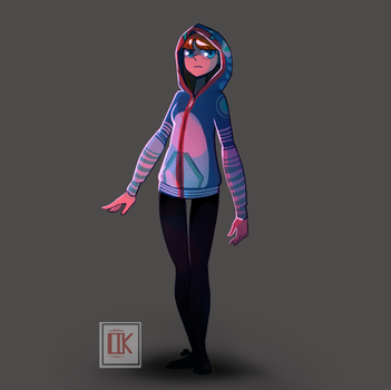 New character design by TheJourneyofmylive