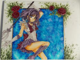Sailor Saturn Motion by ArtTreasure