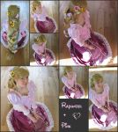 Tangled Rapunzel Cosplay 27 Pink! by KatintheAttic