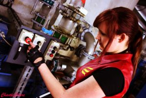 Claire Redfield Cosplay - Code Veronica X by ChaoticClaire