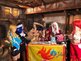 Fairy Tail's guild by COSPLAYTITANIA