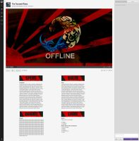 TsunamiFalcon Twitch Layout by sYpr0