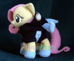 END EBAY! Fluttershy ninja bunny outfit SIDE END by lemonkylie