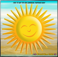 RESOURCE and STOCK: HAPPY SMILEY SUN by CSuk-1T