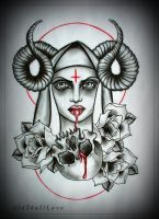 BLOODLINE tattoo design by MWeiss-Art