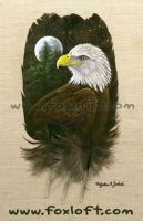 Eaglefeatherpainting by Foxfeather248