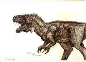 Sinraptor dongi by Teratophoneus