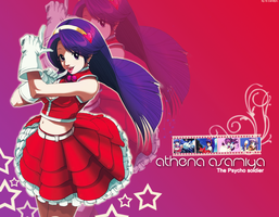 Athena Wallpaper by SweetCandyCupkake