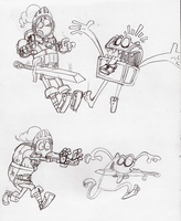 SKetchbook: Page 5 - Mimic Character by MichaelFay