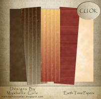 Earth Tone Papers by shelldevil
