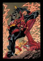 Flash Rebirth 3 Cvr by DustinYee