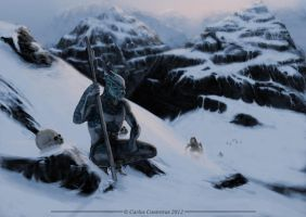 White Walker by face-in-the-sky